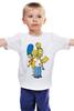 "Детская футболка ""Simpsons Family"" - симпсоны, the simpsons"