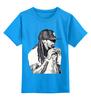 """Детская футболка классическая унисекс """"Lil Wayne """" - lil wayne, hip hop, lil, wayne, лил уэйн"""