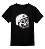 "Детская футболка классическая унисекс ""Обезьяна Зомби Астронавт"" - zombie, зомби, space, обезьяна, astronaut, monkey, астронавт"