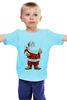 "Детская футболка ""Happy New Year"" - праздник, красиво, happy new year, новый год, дед мороз, санта клаус, santa claus"