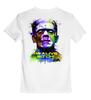 """Детская футболка классическая унисекс """"Арт Франкенштейн"""" - frankenstein, дракула, авторские худи, я жив"""