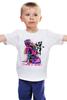 """Детская футболка """"Неоновый Будда"""" - йога, buddha, будда, yoga"""