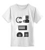 "Детская футболка классическая унисекс ""Store"" - музыка, apple, musiс, диск, наушники, плеер, клавиши, mp3, cd, headphones"