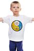"""Детская футболка классическая унисекс """"Финн и Джейк (Adventure Time)"""" - adventure time, время приключений, jake, finn"""