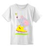"""Детская футболка классическая унисекс """"Дружба"""" - милое, конфета, слоненок, сестренке, малышке"""