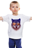 """Детская футболка классическая унисекс """"Охотник"""" - волк, wolf, охотник"""