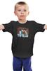 "Детская футболка ""До Минг Си и Шан Сай"" - сериал, дорама, сад падающий звёзд, meteor garden, тайвань"
