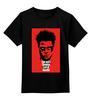 """Детская футболка классическая унисекс """"Tyler Durden (Fight Club)"""" - бойцовский клуб, fight club, тайлер дёрден"""