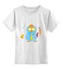 """Детская футболка классическая унисекс """"Настоящему джентльмену"""" - любимому, сова, лучший, owl, 23февраля"""