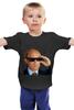 """Детская футболка """"Pixel Putin"""" - король, pixel, путин, putin, пиксели"""