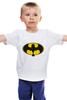 """Детская футболка классическая унисекс """"Night Fury x Batman"""" - дракон, пародия, batman, бэтмен, ночная фурия"""