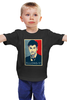 """Детская футболка классическая унисекс """"Allons-y!"""" - doctor who, доктор кто, постер, allons-y, десятый доктор"""