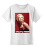 "Детская футболка классическая унисекс ""Marilyn Monroe red"" - девушки, marilyn monroe, актрисы, kinoart, мэрелин монро"