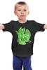 """Детская футболка классическая унисекс """"Как приручить Дракона"""" - dragon, how to train your dragon, ночная фурия, как приручить дракона, night fury"""