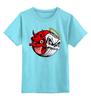 """Детская футболка классическая унисекс """"Angel & Devil"""" - skull, череп, ангел, angel, дьявол, good, evil, devil"""