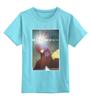 """Детская футболка классическая унисекс """"Iron Man / Железный Человек"""" - комиксы, marvel, железный человек, iron man, kinoart"""