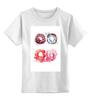 """Детская футболка классическая унисекс """"Пончики! Donuts"""" - сладости, акварель, пончик, donuts"""