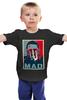 """Детская футболка классическая унисекс """"Безумный Макс (Mad Max)"""" - obey, mad max, безумный макс, road fury, дорога ярости"""