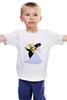 """Детская футболка классическая унисекс """"Симпсоны- свадьба           """" - любовь, арт, приколы, авторские майки, рисунок, прикольные, парные, симсоны, wedding, the simpsons"""