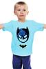"""Детская футболка классическая унисекс """"Маска Бэтмена"""" - batman, бэтмен"""