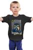 "Детская футболка классическая унисекс ""Batman waiting for you"" - арт, comics, batman, бэтмен"