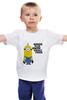 """Детская футболка """"Миньоны Minions"""" - миньоны, minions"""