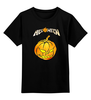 "Детская футболка классическая унисекс ""Helloween ( rock band )"" - heavy metal, тыква, helloween, хэви метал, хэлловин"