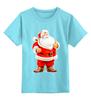 "Детская футболка классическая унисекс ""Happy New Year"" - праздник, красиво, happy new year, новый год, дед мороз, санта клаус, santa claus"