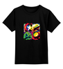 "Детская футболка классическая унисекс ""Без названия"" - мстители, avengers, капитан америка, тор, халк"