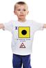 "Детская футболка классическая унисекс ""India (I), флаг МСС (eng)"" - море, парус, яхтинг, мсс, boatstyle"