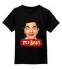 "Детская футболка классическая унисекс ""Mr.Bean"" - мистер бин, mr bean, актёр, роуэн аткинсон, rowan atkinson"