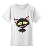 """Детская футболка классическая унисекс """"«капризный кот»"""" - кот, животные, рисунок"""