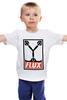 """Детская футболка """"Flux Capacitor (Назад в Будущее)"""" - назад в будущее, obey, back to the future, flux capacitor"""