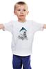 """Детская футболка """"Белый медведь"""" - polar bear, белый медведь"""