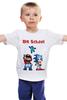 "Детская футболка ""Old School!"" - арт, стиль, sonic, sega, денди, 80's, dendy, mario brothers"