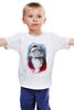 """Детская футболка """"Funny Santa"""" - новый год, santa claus, санта-клаус"""