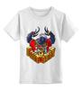 """Детская футболка классическая унисекс """"Gangsta Crow"""" - hip hop, losadleras, los adleras, kotashi"""