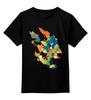 """Детская футболка классическая унисекс """"Цитрус"""" - арт, абстракция, цитрус, citrus"""