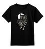 """Детская футболка классическая унисекс """"Филин"""" - птицы, сова, филин, owl"""