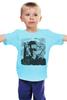 """Детская футболка классическая унисекс """"Терминатор камуфляж"""" - шварценеггер, терминатор, the terminator"""