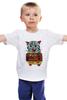 """Детская футболка """"кот суши"""" - кот, cat, суши, япония"""