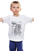 """Детская футболка классическая унисекс """"Gotham City Map"""" - comics, карта, комиксы, batman, город, бэтмен, dc comics, gotham, map, готэм"""