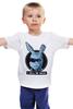 """Детская футболка классическая унисекс """"Зайчик Терминатор"""" - арнольд, rabbit, терминатор, terminator, i will be back"""