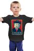 """Детская футболка классическая унисекс """"Лего Президент"""" - президент, lego, постер, лего"""