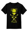 """Детская футболка классическая унисекс """"SPIRIT OF FREEDOM !!!"""" - skull, череп, свобода, freedom"""