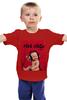 """Детская футболка классическая унисекс """"papa roach - lovehate tragedy album"""""""