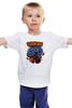 """Детская футболка """"Печеньки"""" - монстр, hulk, халк, печенье, улица сезам"""