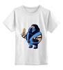 "Детская футболка классическая унисекс ""Fat Sub-zero"" - mortal kombat, мортал комбат, sub-zero, саб-зиро, обжор"