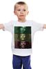 """Детская футболка классическая унисекс """"bob marley"""" - регги, боб марли, растаман, om, bob marley, reggae, ska, rastafari, ска"""