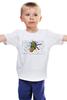 """Детская футболка классическая унисекс """"Spiderman is dead!-2"""" - dead, spiderman, человек-паук, тапки"""